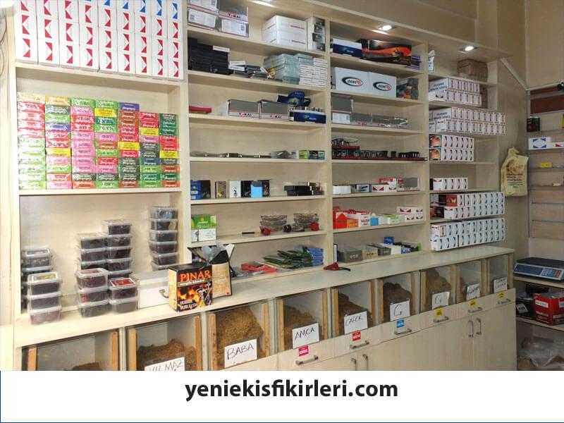Tütüncü Dükkanı Açmak