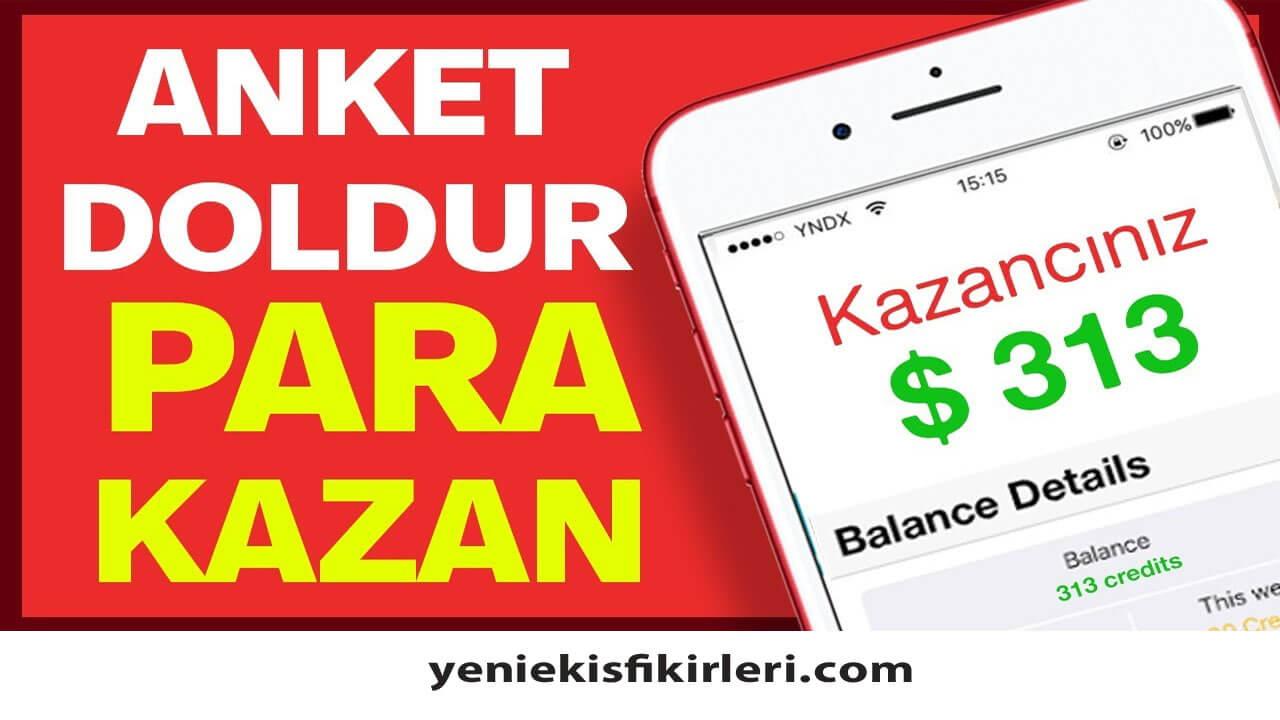 Photo of İnternetten Anket Doldurarak Para Kazanma Güvenilir mi?
