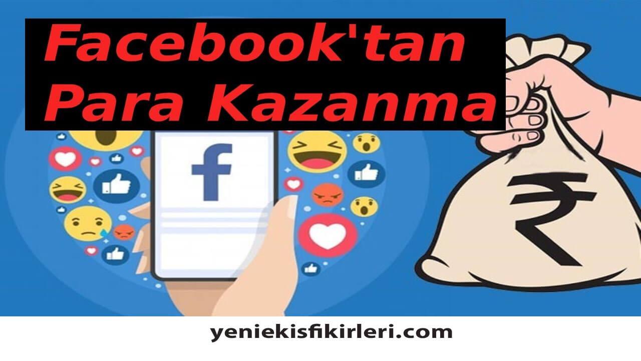 Photo of Facebook'ta Beğeni ile Para Kazanma