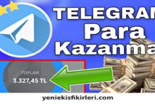 Photo of Telegram Para Kazanma 2020