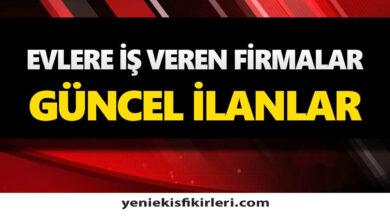 Photo of Evlere Ek İş Veren Firmaların Telefon Numaraları