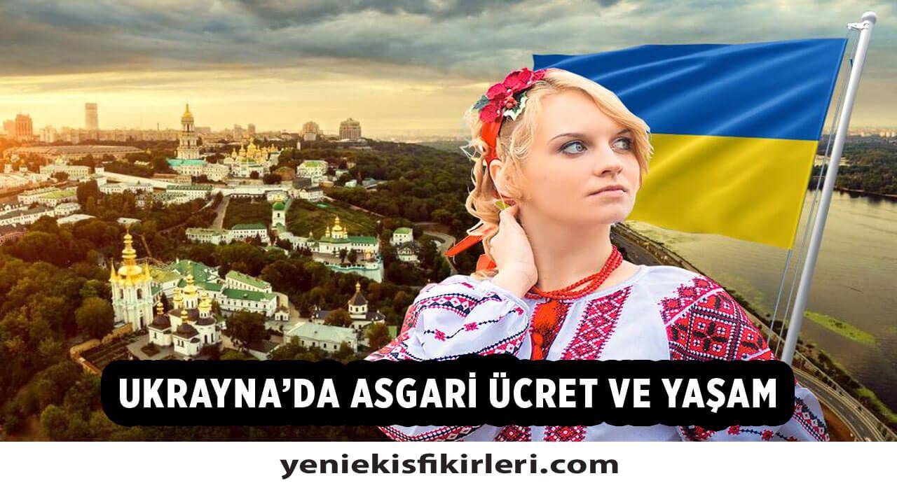 Ukrayna'da Asgari Ücret Ne Kadar? 2021 Asgari Ücret